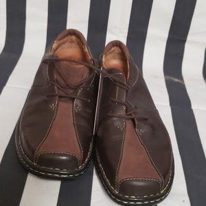 Josef Seibel brown loafers 8.5